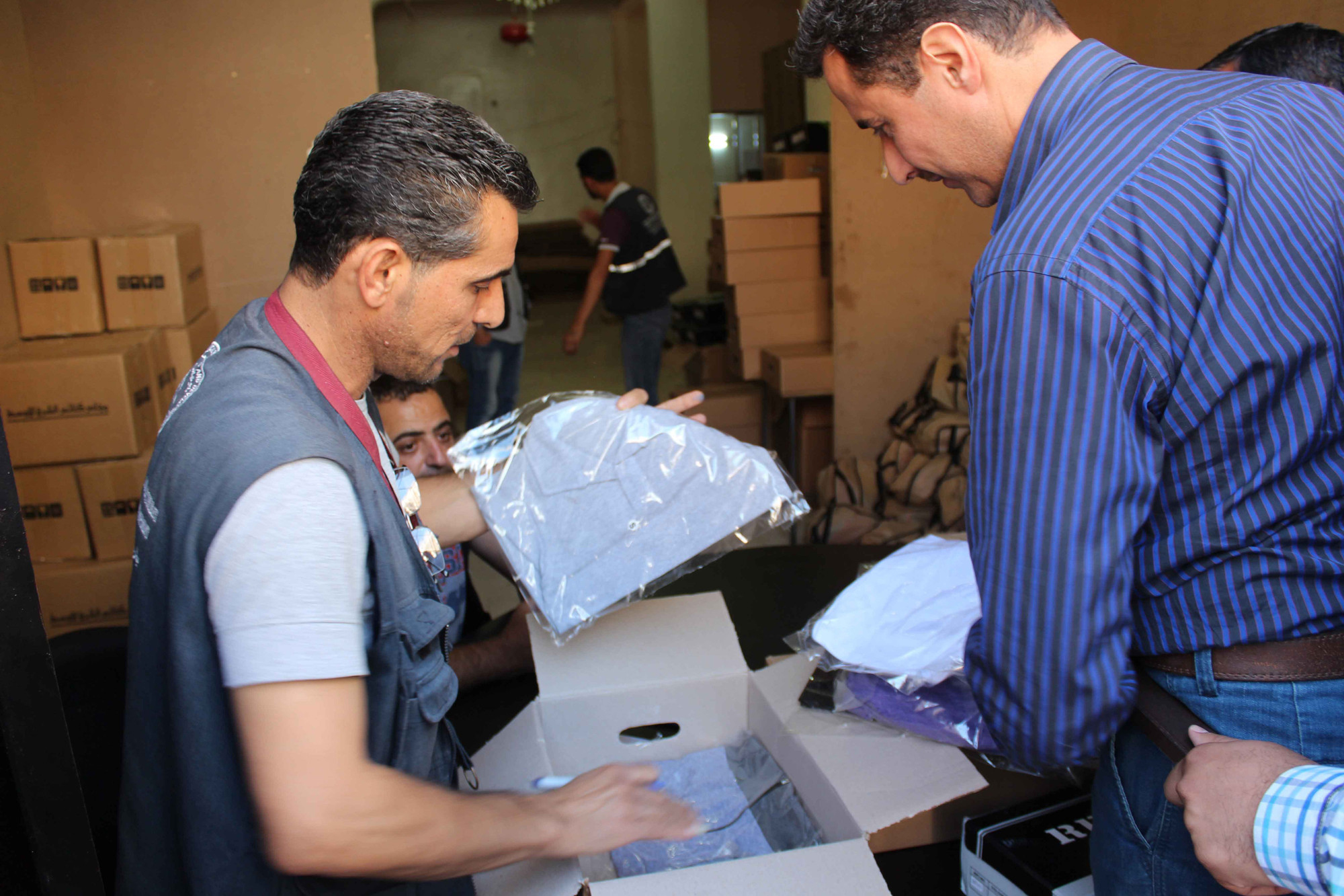 MCC partner MECC provides household items for internally displaced people and host communities in Syria.