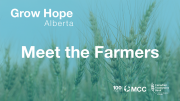 We are so grateful for everyone involved in Grow Hope Alberta! Join us in growing hope and ending world hunger. 2:21