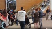 Volunteers from Douglas Mennonite Church welcome two refugee families from Syria to Winnipeg (June 2018).  1:29
