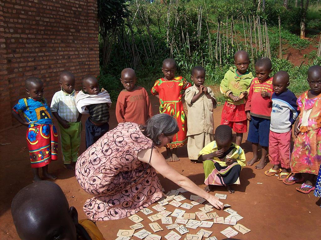 """<span class=""""photo-caption"""">Jodi Mikalachki was an MCC worker in Burundi who helped with education for the Batwa ethnic group.</span><span class=""""photo-credit"""">Photo courtesy of Jodi Mikalachki</span>"""