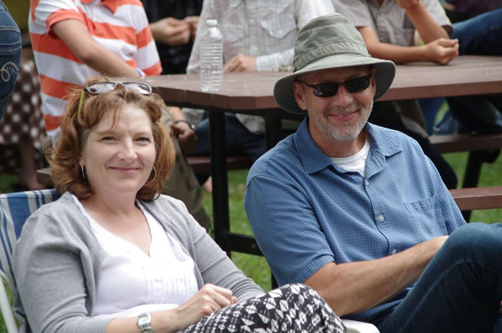 """<span class=""""photo-caption"""">MCCM executive director Ron Janzen and his wife Noreen joined the crowd at the 2014 Kanadiertreffen.</span><span class=""""photo-credit"""">(MCC Photo/Robb Nickel)</span>"""