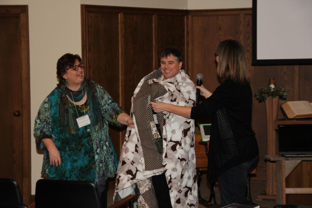 "<span class=""photo-caption"">Jingle Dress, a Dancing towards Reconciliation event.</span><span class=""photo-credit"">MCC Photo</span>"