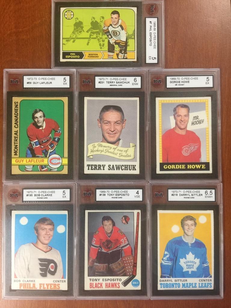 """<span class=""""photo-caption"""">KSA graded hockey cards</span><span class=""""photo-credit"""">MCC Photo</span>"""