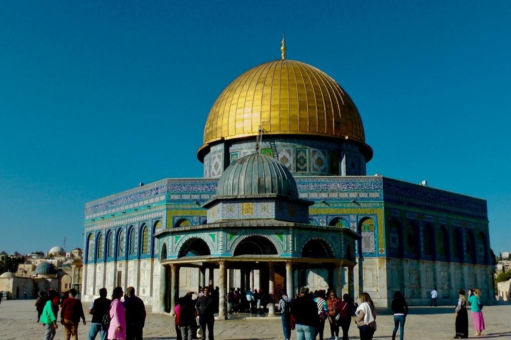 """<span class=""""photo-caption"""">Dome of the Rock in Old City of Jerusalem.</span><span class=""""photo-credit"""">Photo/Betty Enns</span>"""