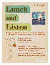 Stories from a Yella Learning Tour: A Lunch and Listen Event