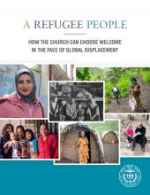 MCC's 2020 Peace Sunday packet,A refugee people: How the church can choose welcome in the face of global displacement.