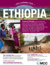 Ethiopia Learning Tour Poster