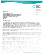Defend Disability Letter