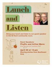 Stories from Southeast Asia: A Lunch and Listen Event