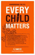 Every Child Matters poster
