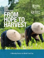 "World Food Day Resource: ""From Hope to Harvest"""