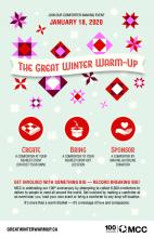 The Great Winter Warm-up Poster