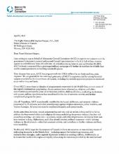 A letter expressing concern over the Canadian government's decision to extend and expand the military campaign against so-called