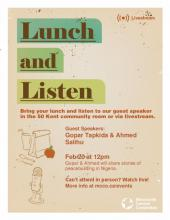 Stories from Nigeria: A Lunch & Listen Event