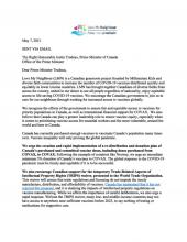 A letter to Prime minister Trudeau about Vaccine Justice