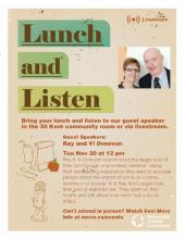 The Power of Restorative Justice: A Lunch and Listen Event