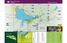 Clear Lake Trail Map in Riding Mountain National Park