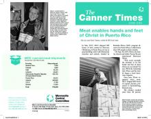 A PDF of the 2018-2019 issue of Canner Times