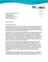 2021 Budget Consulations - MCC Ontario