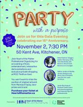 Party with a Purpose poster