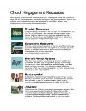 Here are some ways you can help your church engage with Grow Hope this year.