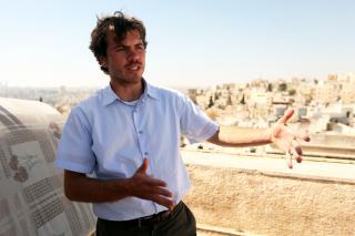 Colin Gilbert, JRS Jordan director. Jesuit Refugee Service (JRS) offers a informal education center in Ashrafiyeh, Amman, Jordan for Iraqi, Sudanese, Somali and Syrian refugees.