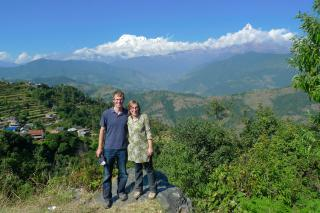 Leah and Luke Reesor-Keller travel to the village of Kaski.