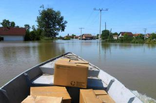 Responding to flooding in the Balkans