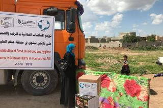 ZSVP distribution Mosul