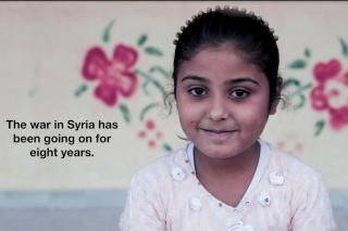 Child-Friendly Spaces during war | Syria | Video