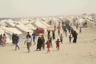 Displaced people in Iraq