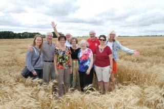 Cindy Klassen and Grow Hope farmers
