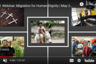 Webinar: Migration for human dignity   Video
