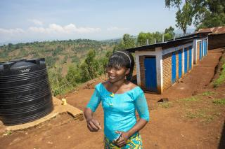 New latrines and water systems strengthen health and dignity