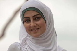 Portrait of Rahaf Abdo.