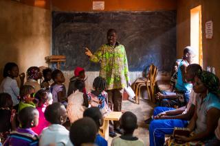 Burkina Faso classroom