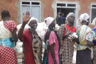 South Sudan women