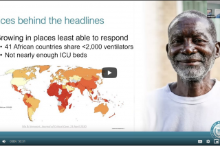 Webinar: COVID-19 hits the developing world