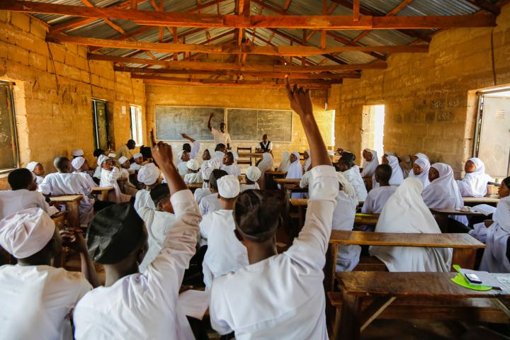 In areas of Nigeria wracked by conflict,MCCpartner Emergency Preparedness Response Team works to build trust and discourage discriminationbetween Christian and Muslim communities. For the past year MCC has supported this peace club atWaseIslamic Secondary School in Wase, Nigeria.