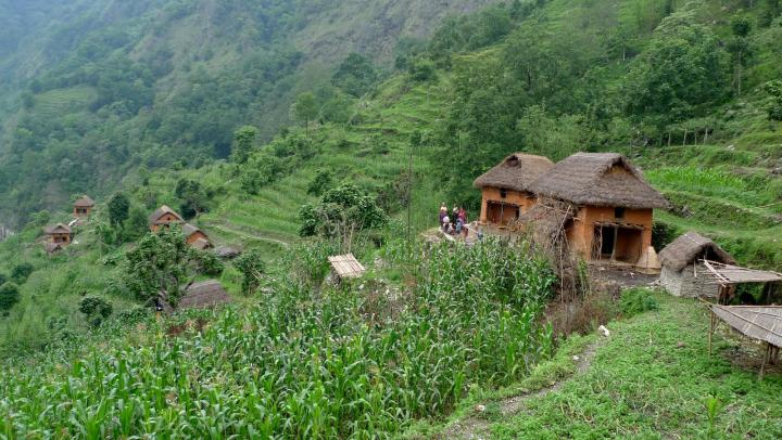 A village in Okaldhunga district, Nepal, before the earthquake. Many of MCC's partners are located in rural and remote areas such as this.