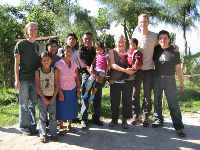 In 2010 Paul Heidebrecht (2nd from R) joined a learning tour to Guatemala as part of a 3-year Mining Justice campaign. Goldcorp, a Canadian gold mining company, has a major mine in San Marcos, Guatemala.