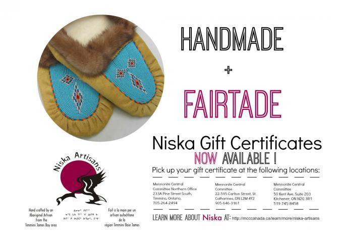 Niska Gift Certificates are now available.