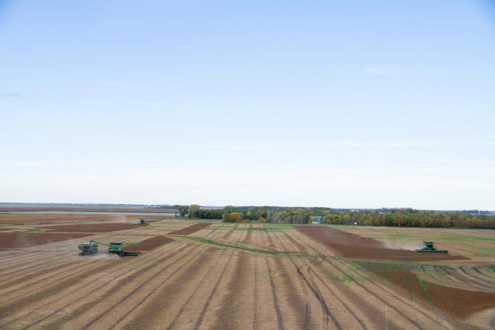 The Grow Hope field harvested on September 22/16.