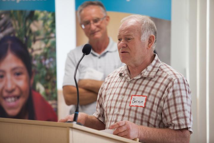 Bernie Brandt of Tiny Creek Farms shares about his motivation to participate in Grow Hope this year.