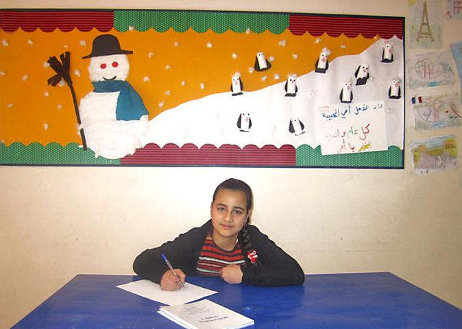 Damaris at House of Light and Hope in Syria