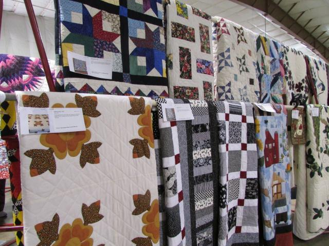 Quilts ready to be sold