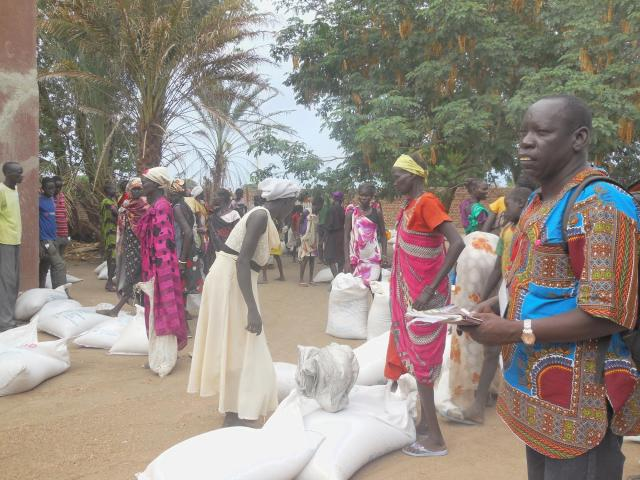South Sudan distribution