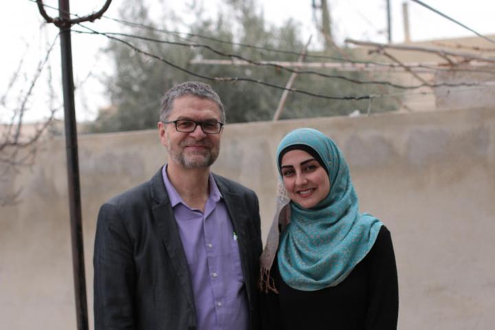 Rick Cober Bauman and Rahaf