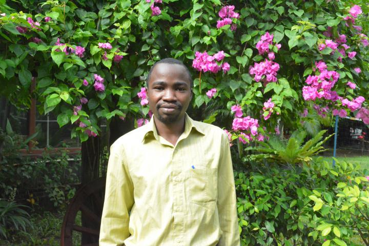 YAMEN! participant Yoweri Murungi, is serving in Lusaka, Zambia, as the assistant coordinator of MCC supported Peace Clubs.