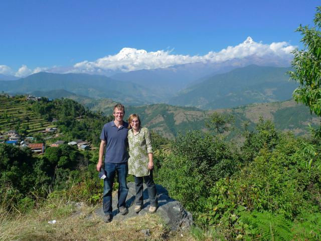Leah and Luke Reesor-Keller travel to the village of Kaski.